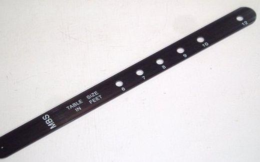 Sgl snooker table d marking stick 6ft 7ft 8ft 9ft 10ft for 10ft x 5ft snooker table