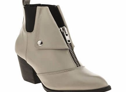 shellys Light Grey Scalone Boots
