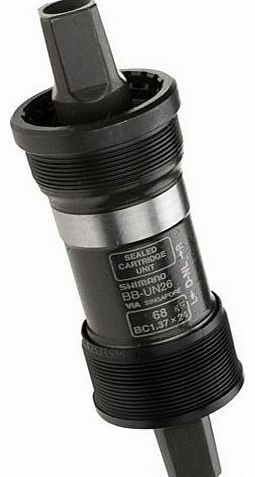 BB-UN26 Bottom Bracket - Black, 68-122 mm
