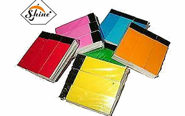 Shine S AND S 750 Roaches Roach Filter Tips Multi Colour Books 5 Packs Of3 = 15 Books product image