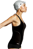 Shock Absorber S/A Sports Tankini Black/Silver product image