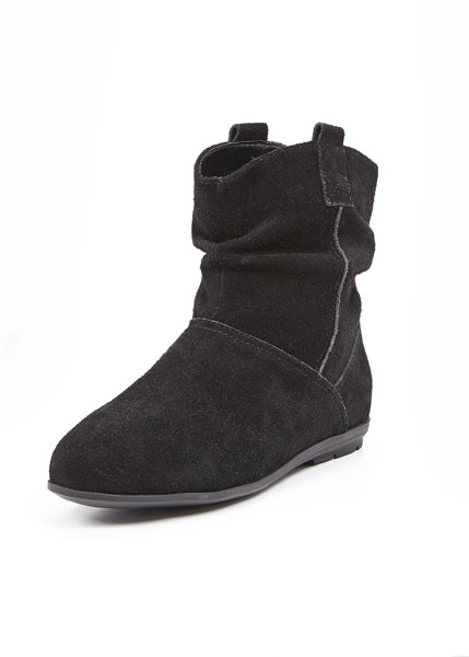 Shoe Box Robbie Suede Flat Ankle Boot