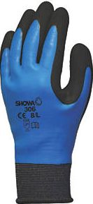 Showa, 1228[^]6387C 306 Fully-Coated Latex Grip Gloves