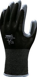Showa, 1228[^]92420 370 Assembly Grip Gloves Black Large 92420