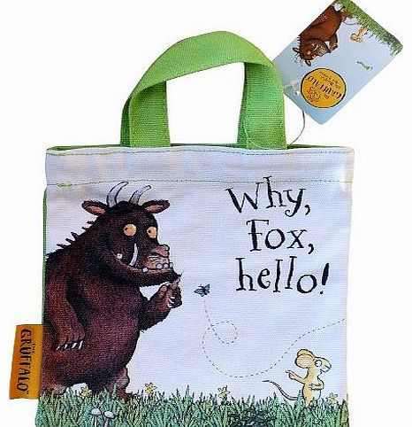The Gruffalo Mini Tote Bag (Green and Multi-coloured)