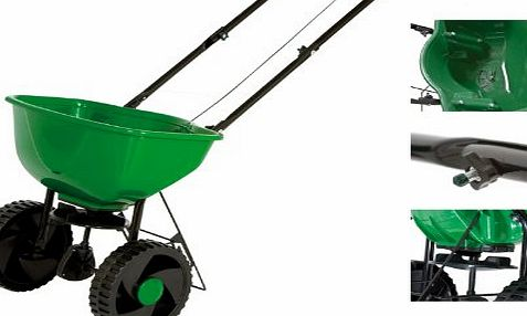 Siena Garden SP-7402 Spreader 15 L One-Handed Spreader Quantity Controls
