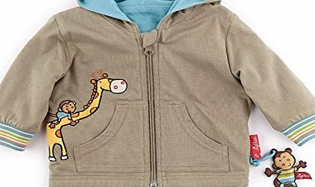 Baby Boys Jacket - Green - 6-9 Months