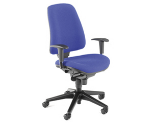 chair(adj chrome arms)