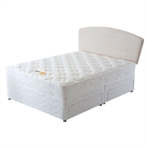 Brittany beds for Single two drawer divan bed