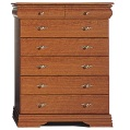 provence five-plus-two drawer chest