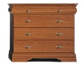provence four-drawer wide chest