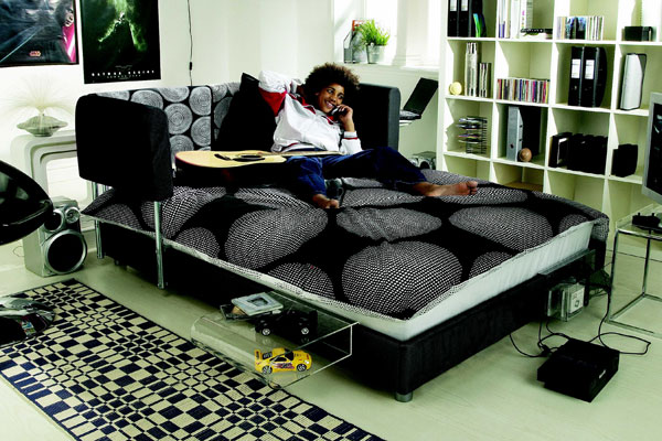 the chillout bed is a funky design kids bed the option