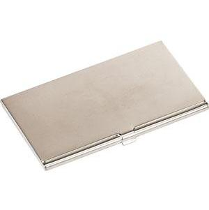Silver Plated Plain Card Case product image