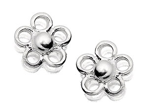 Small Flower Stud Earrings 060123