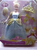 Disney Princess - Golden Glitter Cinderella Doll