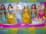 Disney Princess - Set of six Dolls