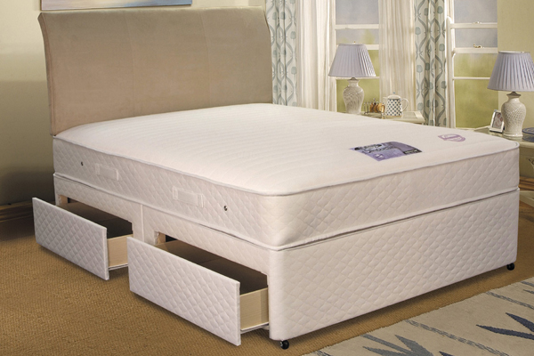 Double bed divan bed mattress sale for Divan double bed with mattress sale
