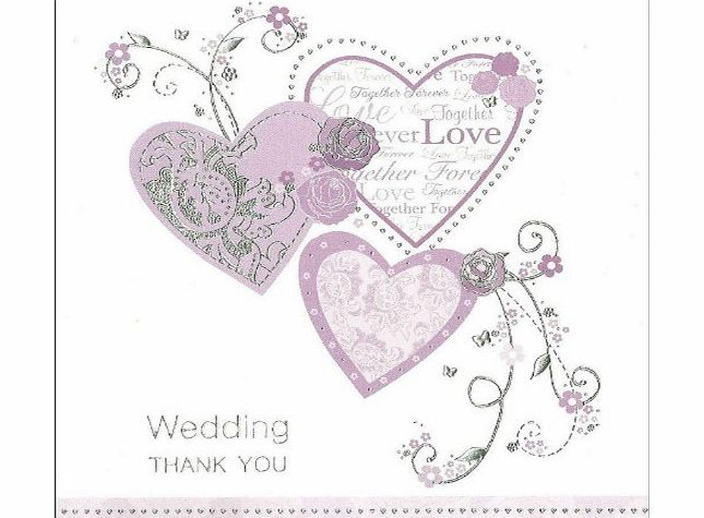 thank you wedding gift cards amp; envelopes in Wedding Cards - Thank ...
