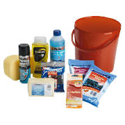 9 piece cleaning bucket kit