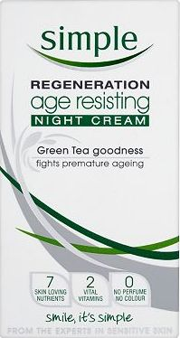 Simple, 2041[^]10016715 Regeneration Age Resisting Night Cream