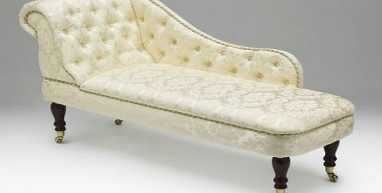 Compare prices of chaise longues read chaise longue for Black damask chaise longue
