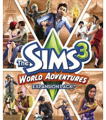Simply Games The Sims 3 World Adventures Expansion Pack on PC