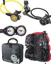 Simply Scuba, 1192[^]250636 Hollis Travel Performance Package