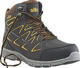 Site, 1228[^]4825J Crater Safety Trainer Boots Black Size 10