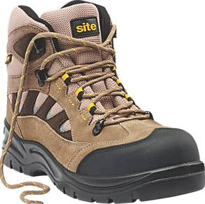 Site, 1228[^]9477H Granite Safety Trainer Boots Stone Size 12