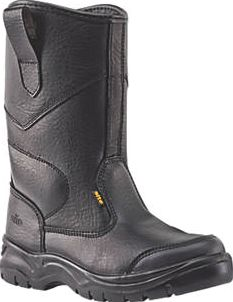 Site, 1228[^]84829 Gravel Rigger Safety Boots Black Size 8 84829