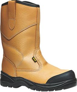 Site, 1228[^]94095 Gravel Rigger Safety Boots Tan Size 6 94095