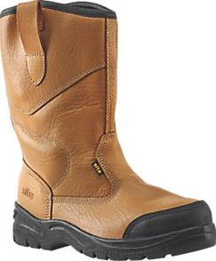 Site, 1228[^]93121 Gravel Rigger Safety Boots Tan Size 9 93121