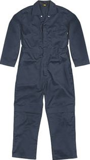 Site, 1228[^]7914D Hammer Coverall Navy Medium 49`` Chest 31``
