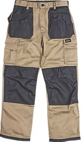 Site, 1228[^]5542F Hound Holster Trousers Stone / Black 34`` W