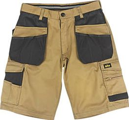 Site, 1228[^]18730 Hound Multi-Pocket Shorts Khaki / Black