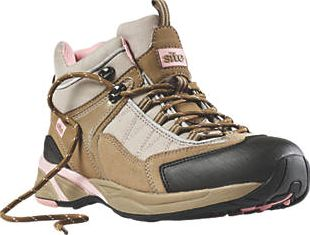 Site, 1228[^]41924 Ladies Safety Trainer Boots Pink Size 5 41924