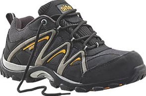 Site, 1228[^]18604 Mercury Safety Trainers Black Size 9 18604