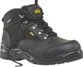 Site, 1228[^]98660 Onyx Safety Boots Black Size 9 98660