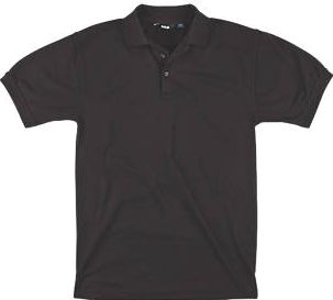 Site, 1228[^]90463 Pepper Polo Shirt Black X Large 46-48``