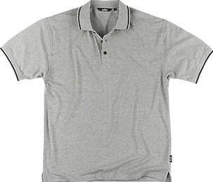 Site, 1228[^]90283 Pepper Polo Shirt Grey Medium 40-41`` Chest