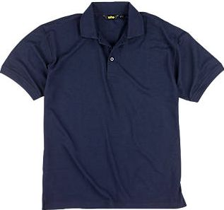 Site, 1228[^]60031 Pepper Polo Shirt Navy Large 42-44`` Chest