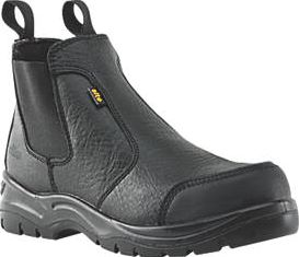 Site, 1228[^]98641 Scoria Chelsea Safety Boots Black Size 9