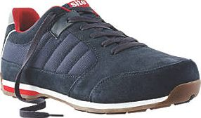 Site, 1228[^]14991 Strata Safety Trainers Navy Size 10 14991