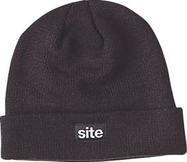 Site, 1228[^]79891 Thinsulate Knitted Hat Black 79891