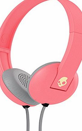 Skullcandy S5URHT-501 Ill-Famed Collection Uproar 2015 On-Ear Headphone with Taptech - Coral/Cream