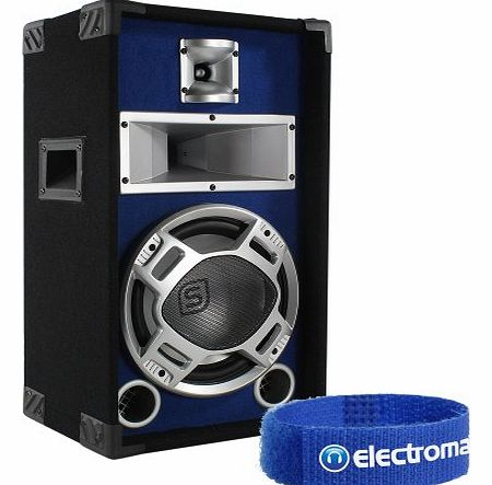 Skytec 10`` Passive Blue LED Disco Speaker House Party DJ Home Audio Sound 400W product image
