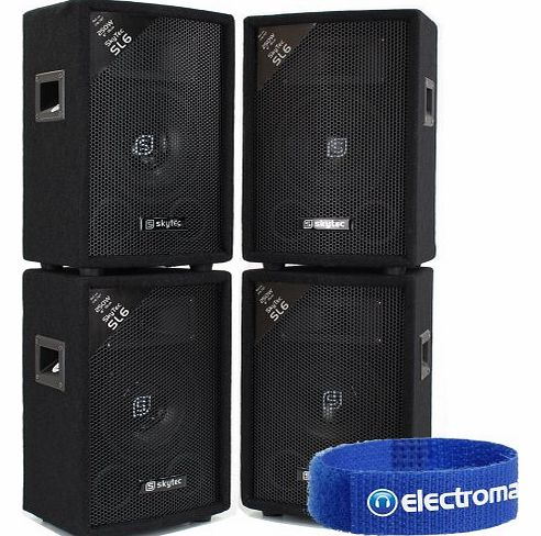 Skytec 4x Skytec 6`` Speakers product image
