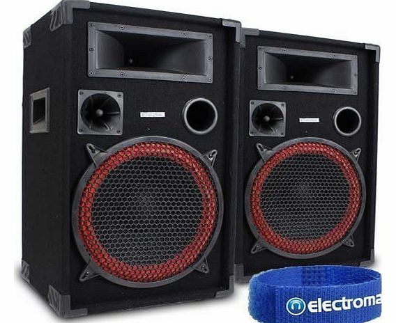 Skytec Pair of Skytec 12`` Passive Speakers 1000W product image