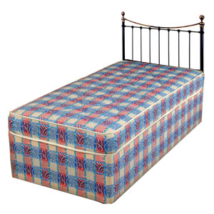 Sleeptime Beds Oxford 3ft Single Divan Bed Review Compare Prices Buy Online