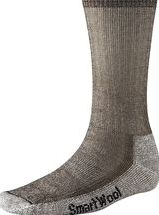 SmartWool, 1296[^]123165 Mens Hiking Medium Crew Sock - Dark Brown